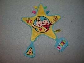 AJ-1028  Studio 100 kroeldoekje clown Bumba