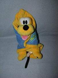 H-599  Disneyland Resort Parijs hond Pluto met omslagdoek