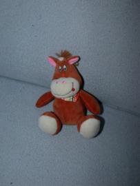 KP-1879  Toys paardje met halsdoekje - 16 cm