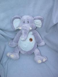 KP-1633  Keel Toys olifant Wild Bunch - 40 cm