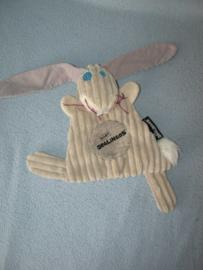 K-1348  Les Deglingos kroeldoekje konijn
