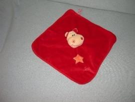 KP-1356  Tiamo kroeldoekje nijlpaard Harry the Hippo