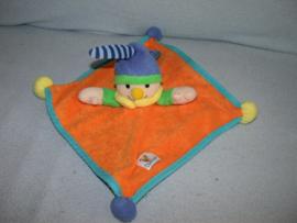 AJ-494  Simba Baby kroeldoekje clown