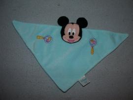M-343  Disney Baby/Panda kroeldoekje Mickey Mouse