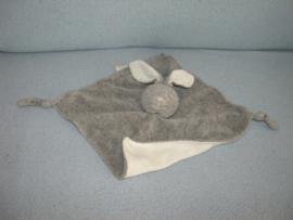K-1357  Bambino kroeldoekje konijn, grijs gemêleerd