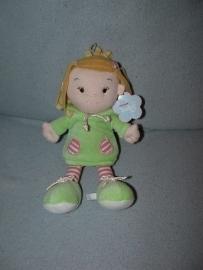 PS-989  Gloednieuw! Aurora popje Rag Doll - 28 cm