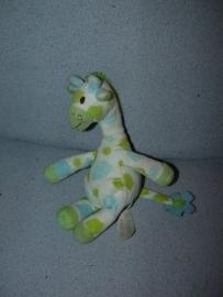AJ-466  Happy Horse giraffe Goffy 2010 nr.1 - 23 cm - satijnen label