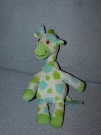AJ-466  Happy Horse giraffe Goffy 2006 nr.1 - 23 cm - geweven label