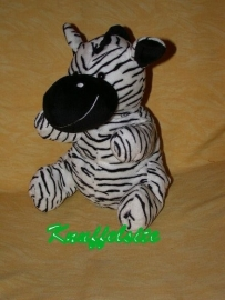 QZ-463  Bambia handpop zebra - 25 cm