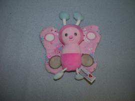 QZ-1037  Prenatal vlinder Fay - 13 x 19 cm