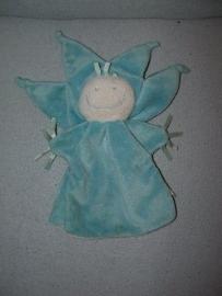PS-975  Difrax handpop bloem / engel