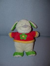 H-522  Toys hond met truitje - 24 cm