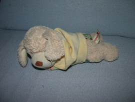 RMK-329  Nicotoy muziekdoos hond Pebbles met truitje - defect!