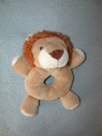 KP-1171  Tender Toys rammelaar leeuw