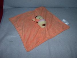 QZ-601  Disney Baby/Panda kroeldoek Teigetje - bruin geborduurd!