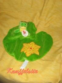 KP-749  Gloednieuw! Egmont Toys kroeldoekje met kikker
