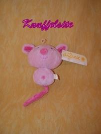 M-370  Gloednieuw! Difrax bolle muis - 14 cm