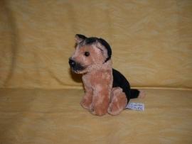 H-564  Anna Club Plush hondje Herder - 14 x 14 cm