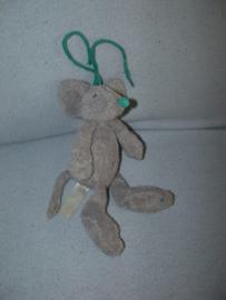 RMK-438  Happy Horse muziekdoosje muis Dust Mouse Mugsy