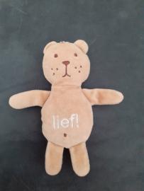 B-1506  Lief! Lifestyle beertje - 16 cm