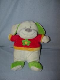 H-900  Toys hond met truitje - 32 cm