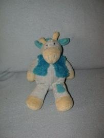 AJ-542  Eddy toys giraffe met vest - 29 cm