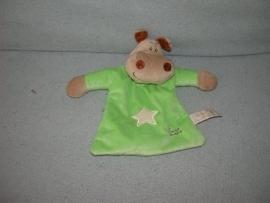 KP-589  K Tiamo kroeldoekje nijlpaard Harry the Hippo