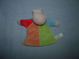 KP-1350  Eddy Toys kroeldoekje nijlpaard - 20 cm