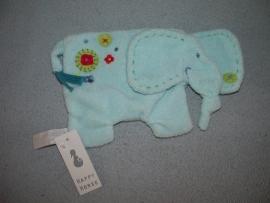 KP-1472  Gloednieuw! Happy Horse kroeldoekje olifant Eef Tuttle 2005