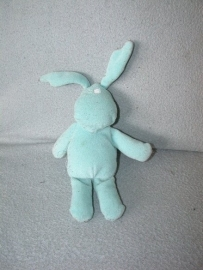 K-97  Hema lichtblauw konijntje - 21 cm