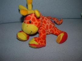 AJ-1386  Playgro giraffe - 17 cm - met klittenband