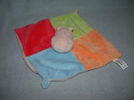 KP-1488  Zeeman kroeldoekje nijlpaard - plat rammeltje