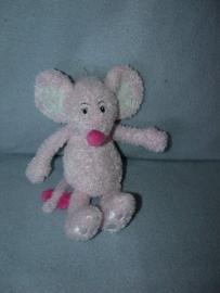 M-476  Anna Club Plush muis met truitje (ontbreekt) - 24 cm
