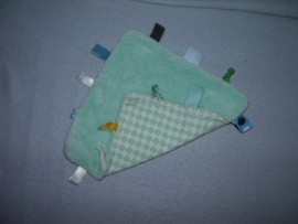 PS-1208  Snoozebaby labeldoekje, wollig/tricot