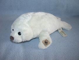 QZ-889  WWF zeehond - 28 cm - vlek