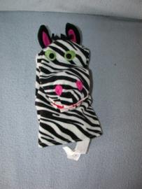 QZ-1122  Ikea handpop zebra Klappar Vild