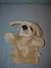 H-969  Page handpop hond - 22 cm