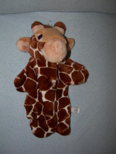 AJ-41  Evora handpop giraffe - 30 cm