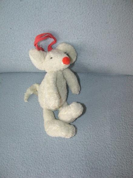 RMK-356  Happy Horse muziekdoos muis Ivory Mouse Mugsy 2008