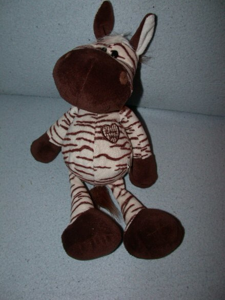 QZ-1105  Global Pluche Toys zebra - 32 cm