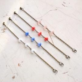 calyx armband - blauw