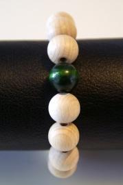 hout & groene parel