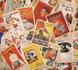 retro kaarten