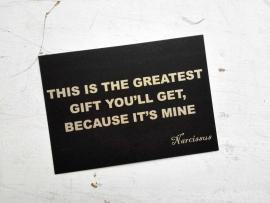 kaart - greatest gift