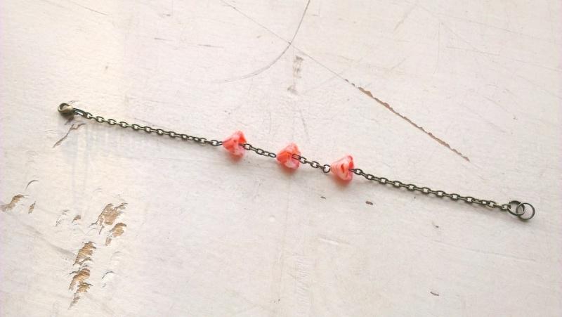 calyx armband - oranje