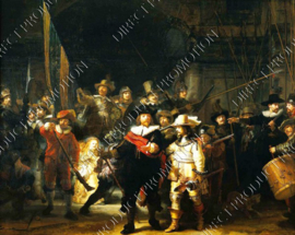 """Diamond painting """"The Night Watch by Rembrandt"""""""