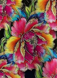 "Diamond painting ""Colorful flower"""