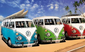 Diamond painting, Volkswagen vans