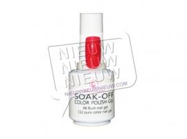 Soak-Off Gellak: Rood nr. 1