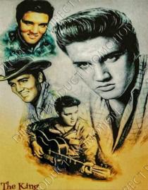 "Diamond painting ""The King Elvis Presley"""